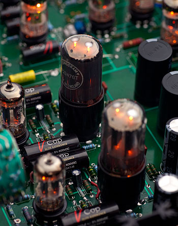 V-Cap CuTF Copper Foil and Fluoropolymer   Film capacitors in Atma-Sphere MP-3 preamp