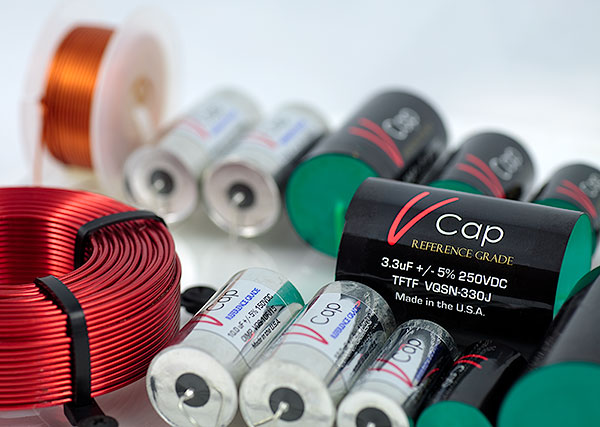 V-Cap Fluoropolymer and Oil Impregnated Audio Capacitors