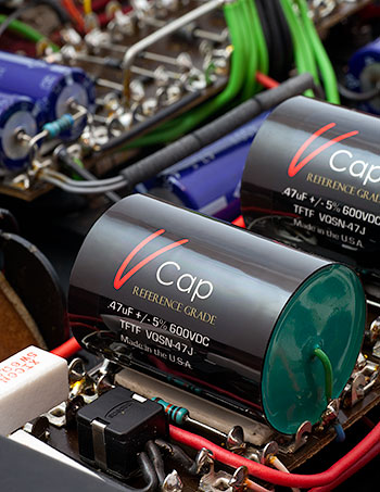 V-Cap CuTF Copper Foil and Fluoropolymer Capacitors